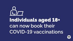 COVID-19 Vaccine Booking Expanding to Youth 12+ Ahead of Schedule