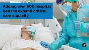 Ontario Adding Over 500 Hospital Beds to Expand Critical Care Capacity