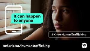 Ontario Introduces New Anti-Human Trafficking Legislation