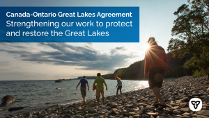 Canada and Ontario Mark 50th Anniversary of Great Lakes Agreement by Signing Ninth Agreement