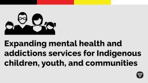 Ontario Increasing Mental Health Supports for Indigenous Peoples, Families and Communities