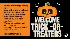 Stay Safe and Follow Public Health Advice This Halloween