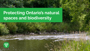 Ontario Supports the Greenbelt Foundation
