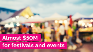 Ontario Makes Historic Investment in Safe, Innovative Festivals and Events