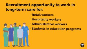 Province Launching Recruitment Program to Support Long-Term Care Sector