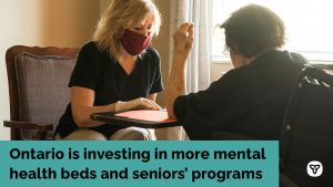 Ontario Adding More Mental Health Beds and Programs for Seniors