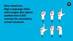 Ontario Offers New Sign Language Courses to Secondary Students