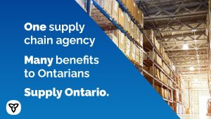 Ontario Launching New Agency to Centralize Government Procurement
