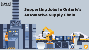 Ontario Partners with Auto Industry to Boost Supply Chain Competitiveness