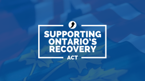 Ontario Protects Workers, Volunteers and Organizations Who Make Honest Efforts to Follow COVID-19 Public Health Guidelines and Laws