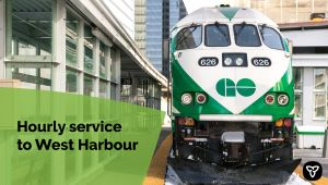 Ontario Introduces Hourly GO Train Service Between West Harbour GO Station and Union Station