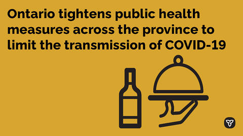 New Public Health Measures Implemented Provincewide to Keep Ontarians Safe