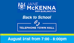 August 31, 2020: Back to School Telephone Town Hall