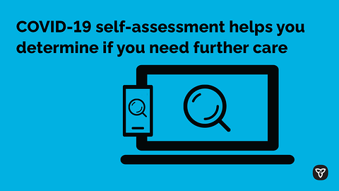 Ontario Launches New Interactive COVID-19 Self-Asssesment Tool