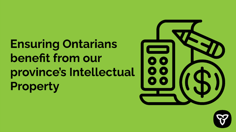 Province Takes Steps to Ensure All Ontarians Benefit from Local Research and Innovation
