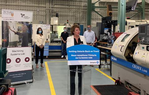 Ontario Helping Workers in Hamilton Re-Skill for New Jobs