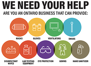 Ontario Urges Business to Join the Fight Against COVID-19