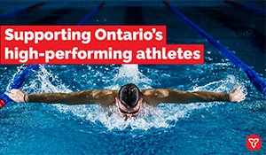Ontario Supporting Athletes in their Quest for Gold