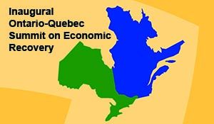 Ontario-Québec Summit to Convene on Economic Recovery