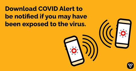 COVID Alert Available for Download Beginning Today