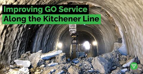 Major Milestone Reached for Kitchener GO Rail Tunnels Project