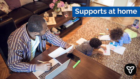 Safer at Home Programs Provide Relief to Ontario Families
