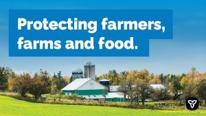 Ontario Moving to Enhance Public Safety and Food Supply Chain