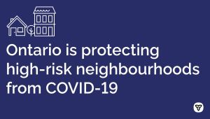 Ontario's COVID-19 Vaccination Strategy Targets High-Risk Neighbourhoods