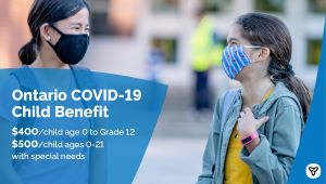 Province Doubles Support for Parents With New Ontario COVID-19 Child Benefit
