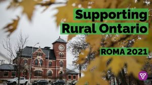 Ontario Supports Modernization of Small and Rural Communities