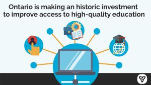 Ontario Invests in Virtual Learning Strategy