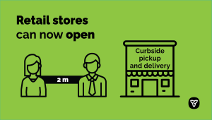 Ontario Retail Stores Open for Curbside Pickup and Delivery
