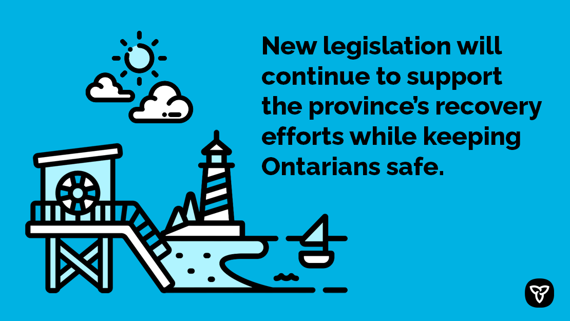Ontario Introduces Legislation to Protect Public Health as Economy Reopens