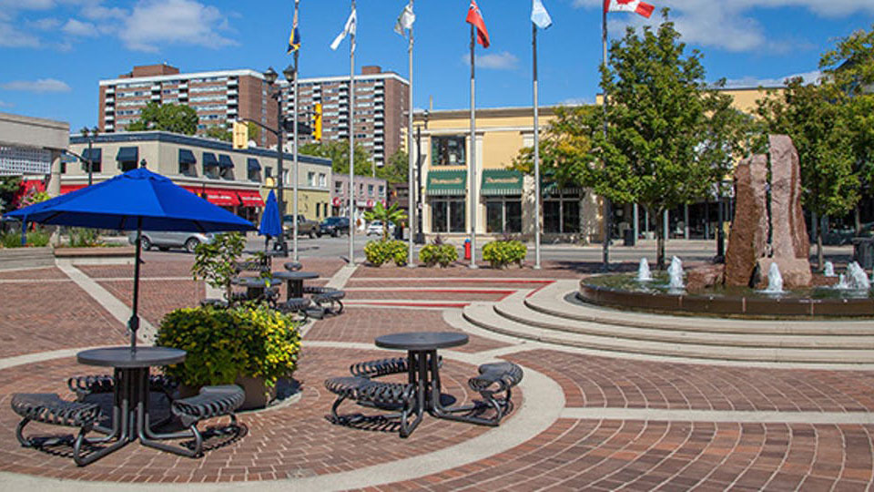 Canada and Ontario Invest in Renewal of the Civic Square for Burlington Residents