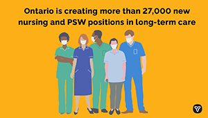 Ontario Launches Historic Long-Term Care Staffing Plan