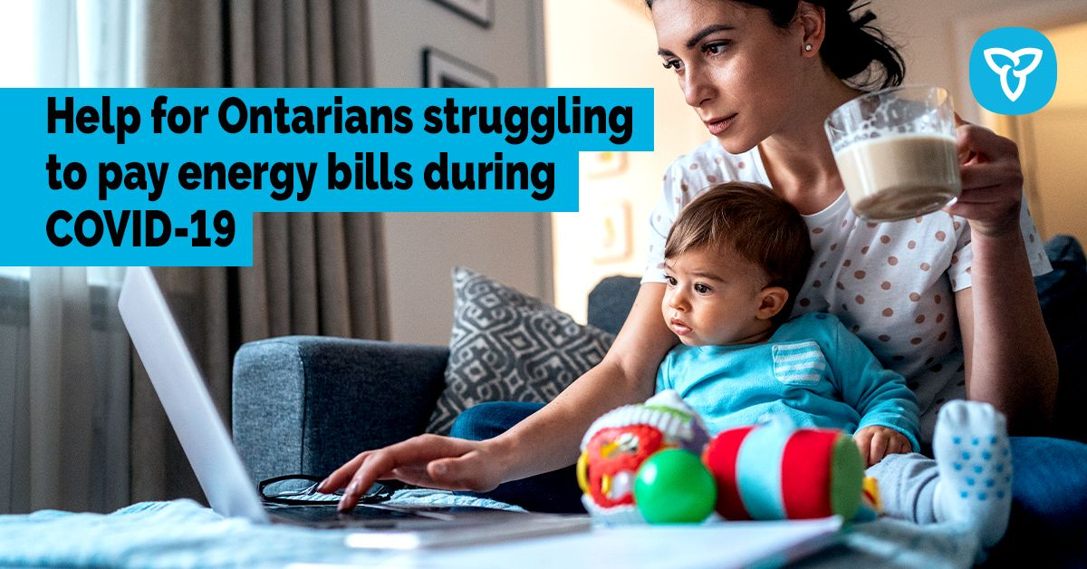 Ontario Supports Those Struggling with Electricity Bills during COVID-19