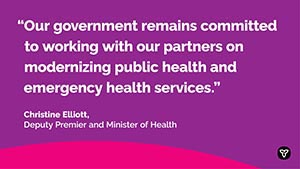 Ontario Names Advisor on Public Health and Emergency Health Services Consultations