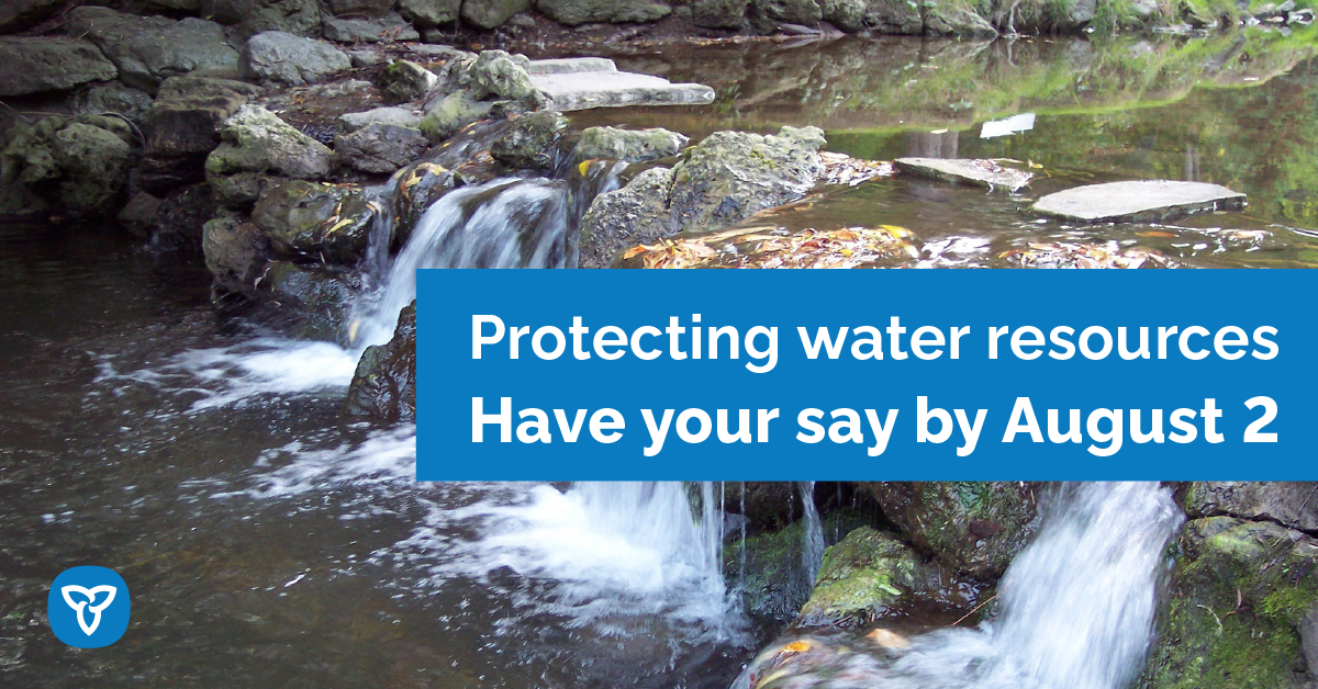 Ontario Proposes to Further Protect Water Resources
