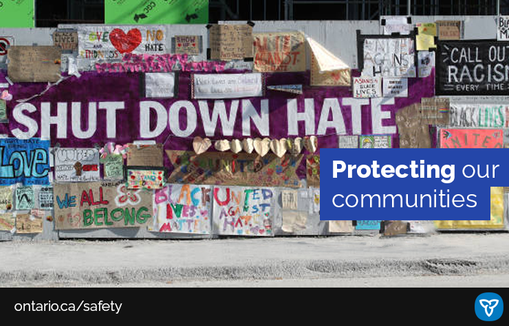Ontario Takes Steps to Combat Hate-Motivated Crimes