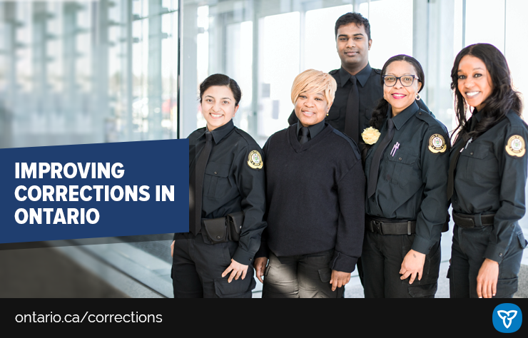 Ontario Investing in Frontline Corrections Workers