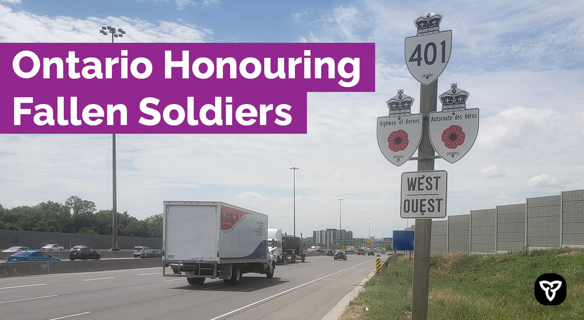 Ontario Commemorating the Sacrifice of Canadian Service Members