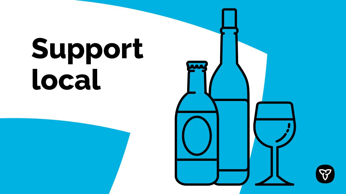 Ontario Supports Ontario's Beverage Alcohol Sector During COVID-19