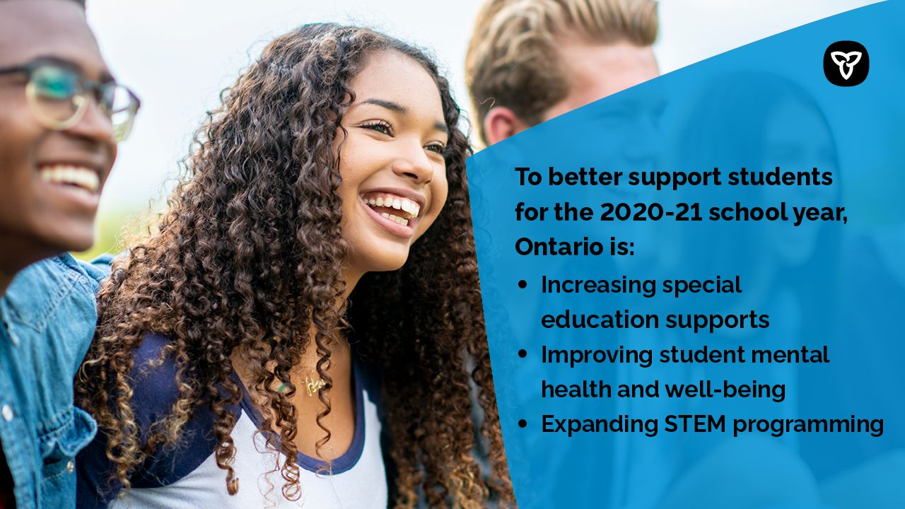Ontario Makes Historic Investment in Public Education